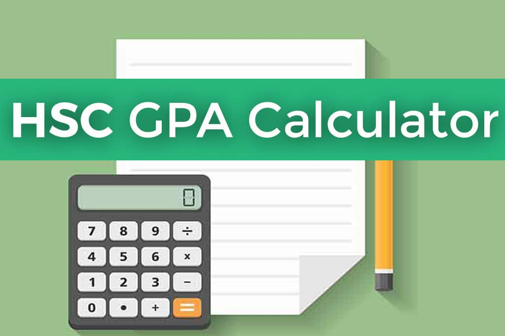 HSC GPA Calculator