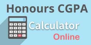 Honours CGPA Calculator Online